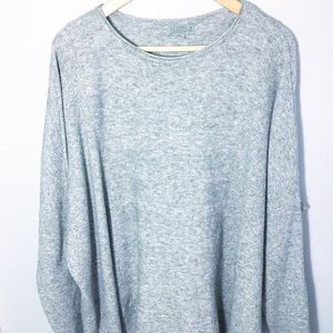 Joseph A grey oversized crewneck sweater M